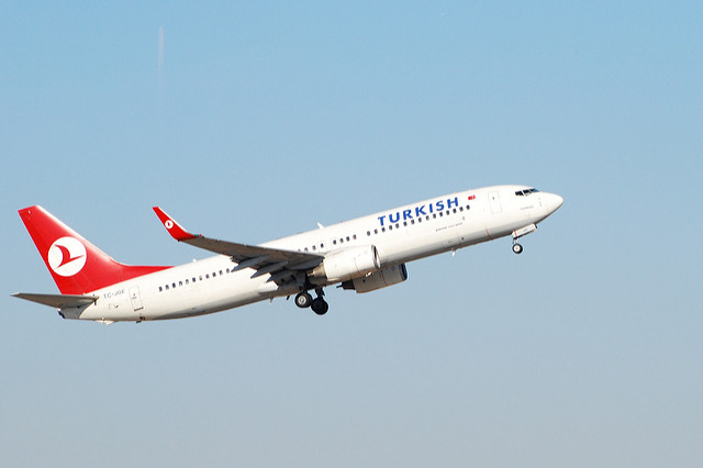 Turkish Airlines plane