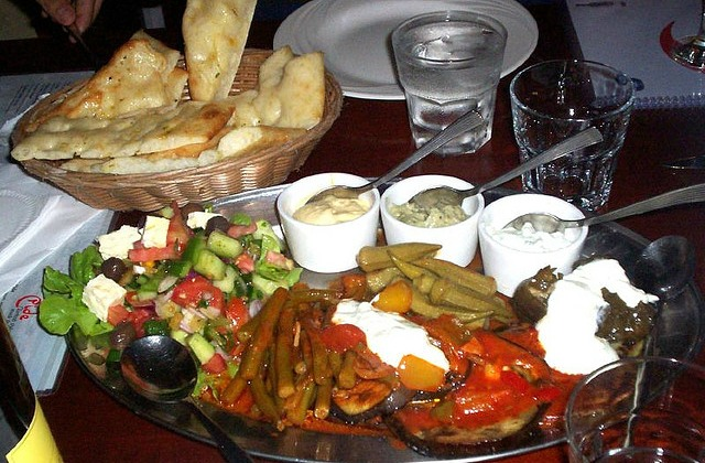 Istanbul restaurant and mezes