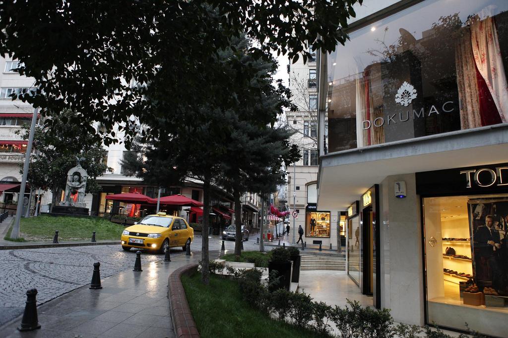 Street in Nisantasi area in Istanbul