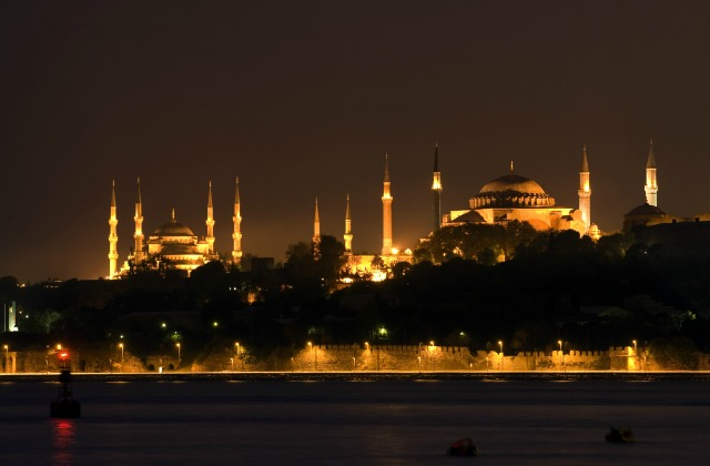 Hagia Sophia and Blue Mosque in Istanbul