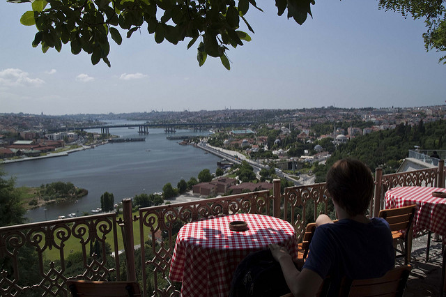 Pierre Loti Hill in Istanbul