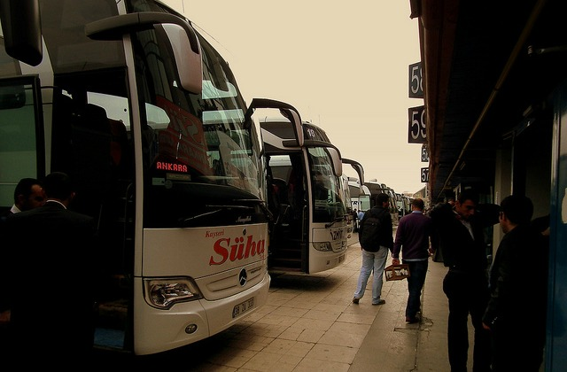 Istanbul's main bus station
