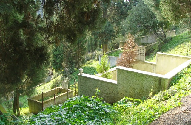 Pierre Loti graveyard. Istanbul.