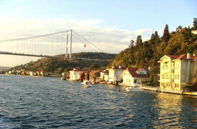 Bosphorus Bridge in Istanbul