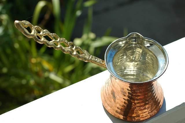 Turkish coffee pot (Cezve)