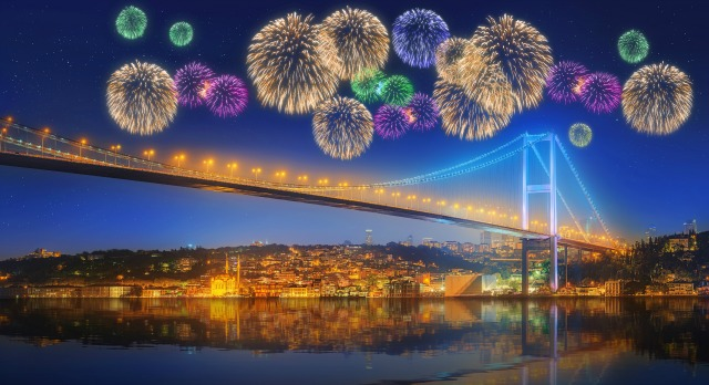 New Year in Istanbul