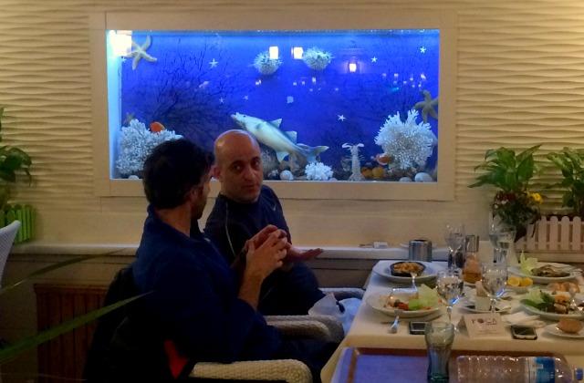 Foca Istanbul Restaurant for fish
