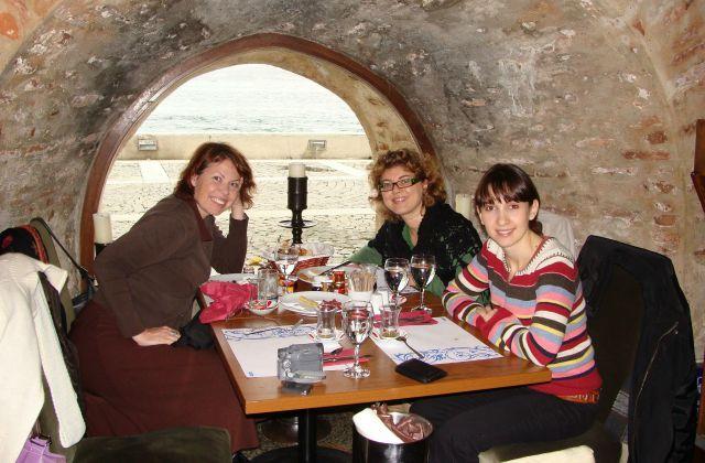 Turkish breakfast at Kiz Kulesi