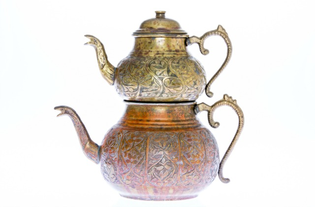 Turkish tea pot