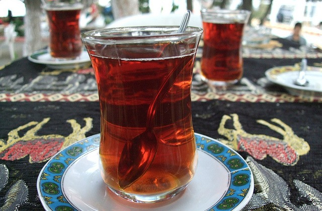 Turkish tea glasses