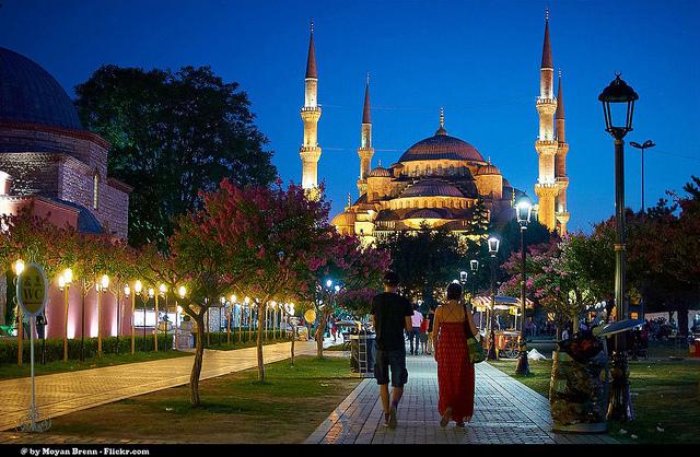 Sultanahmet. Istanbul.