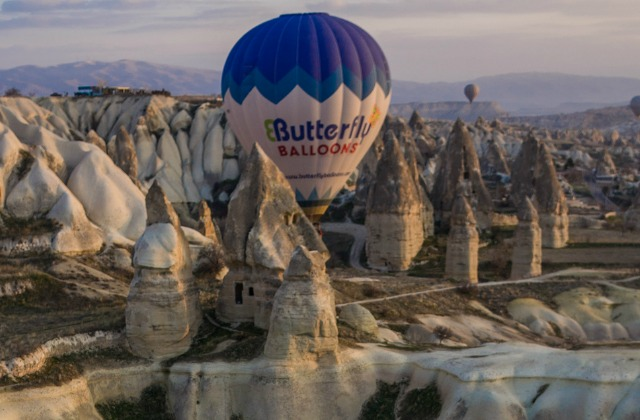 Open air museum Goreme in Cappadocia, Turkey