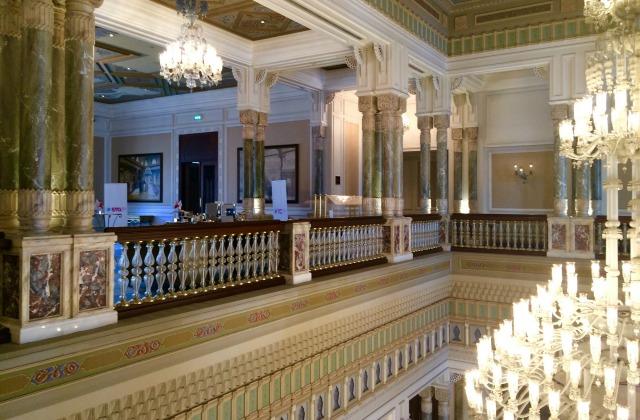 Ciragan Palace Kempinski hotel.  Floors and decor.