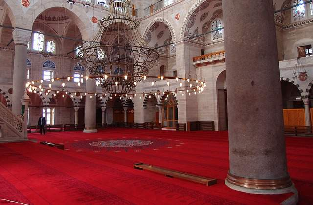 Mihrimah mosque in Istanbul
