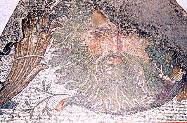 Mosaics at Istanbul museum