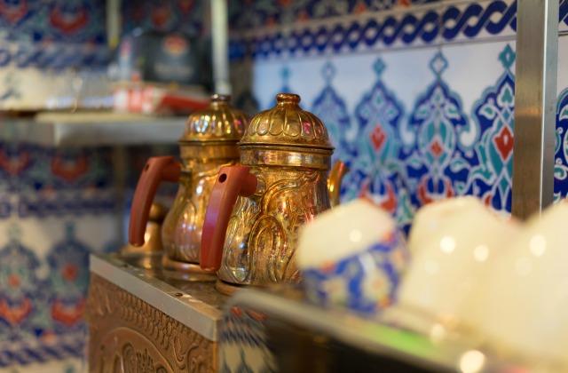 Two Turkish tea pots