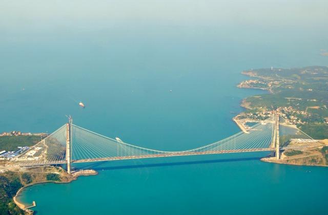 Third bridge over Bosphorus Istanbul